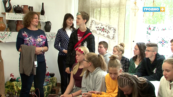 Гродненская школа в рамках международного проекта принимает в гостях учащихся из Европы
