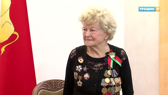 Валентина Баранова отметила своё 95-летие