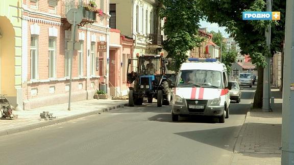 Какие дороги обновят в Гродно и где в ближайшей дни проезд будет закрыт?
