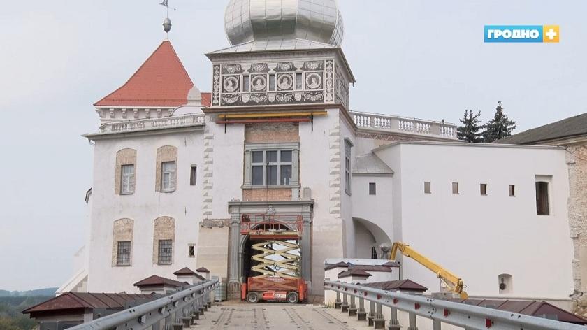 Реконструкция Старого замка выполнена на 18%