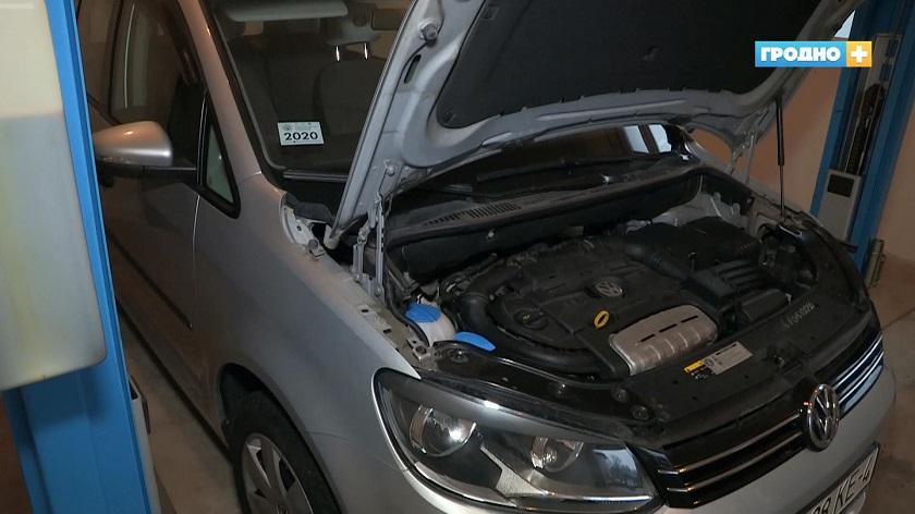 В Гродно всё чаще появляются неисправные авто с коррозированными номерами идентификации